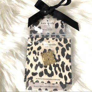 Kate Spade Leopard Pin and Nail Decal